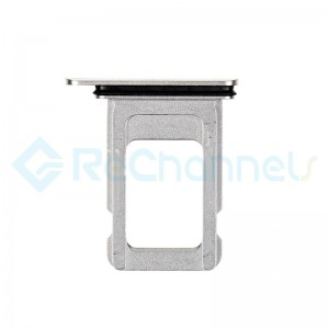 For Apple iPhone 11 Pro/11 Pro Max SIM Card Tray Replacement (Single) - Silver - Grade S+