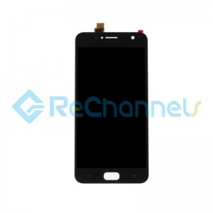 For Asus Zenfone 4 Selfie LCD Screen and Digitizer Assembly Replacement - Black - Grade S