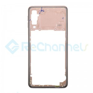 For Samsung Galaxy A7 (2018) SM-A750 Rear Housing  Replacement - Gold - Grade S+