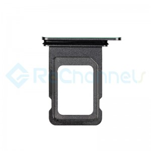 For Apple iPhone 11 Pro/11 Pro Max SIM Card Tray Replacement (Single) - Midnight Green - Grade S+