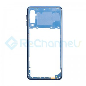For Samsung Galaxy A7 (2018) SM-A750 Rear Housing  Replacement - Blue - Grade S+