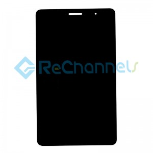 For Huawei MediaPad T3 8.0 LCD Screen and Digitizer Assembly Replacement - Black - Grade R