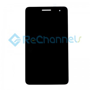 For Huawei MediaPad T1 7.0 T1-701 LCD Screen and Digitizer Assembly Replacement - Black - Grade R