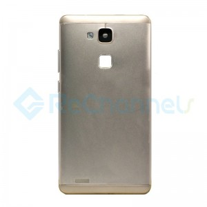 For Huawei Mate 7 Battery Door Replacement - Gold - Grade S+