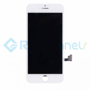 For Apple iPhone 7 LCD Screen and Digitizer Assembly Replacement - White - Grade S