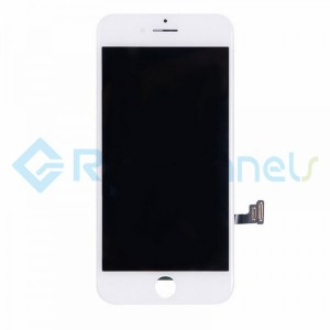 For Apple iPhone 7 LCD Screen and Digitizer Assembly with Frame Replacement - White - Grade R+
