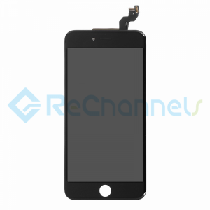 For Apple iPhone 6S Plus LCD Screen and Digitizer Assembly Replacement - Black - Grade R