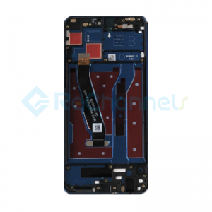 For Huawei Honor 8X LCD Screen and Digitizer Assembly with Front Housing Replacement - Blue - Grade S+