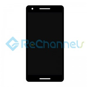 For Nokia 2.1 LCD Screen and Digitizer Assembly Replacement - Black - Grade S+