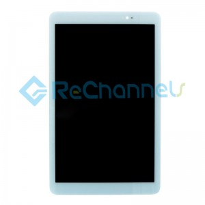 For Huawei MediaPad T1 10 T1-A21L/T1-A22L/T1-A21W LCD Screen and Digitizer Assembly Replacement - White - Grade R