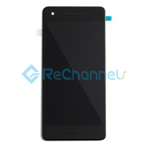 For Google Pixel 2 LCD Screen and Digitizer Assembly Replacement - Black - Grade S+