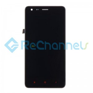 For Xiaomi Max 2 LCD Screen and Digitizer Assembly Replacement - Black - Grade S