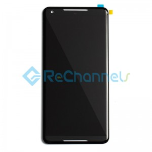 For Google Pixel 2 XL LCD Screen and Digitizer Assembly Replacement - Black - Grade S+