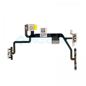 For Apple iPhone 8\SE(2020) Power/Volume Button Flex Cable with Metal Bracket Assembly Replacement - Grade S+