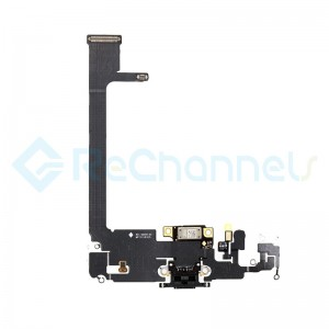 For Apple iPhone 11 Pro Max Charging Port Flex Cable Replacement - Space Gray - Grade S+
