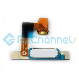 For Huawei MediaPad M3 Lite 8 Fingerprint Sensor Flex Cable Replacement - White - Grade S+