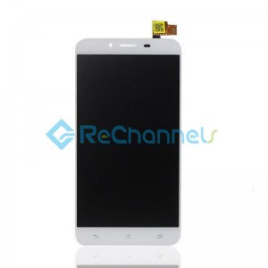 For Asus Zenfone 3 Max(ZC553KL) LCD Screen and Digitizer Assembly Replacement - White - Grade S