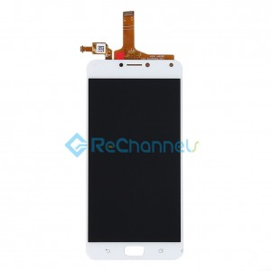 For Asus Zenfone 4 Max(ZC554KL) LCD Screen and Digitizer Assembly Replacement - White - Grade S