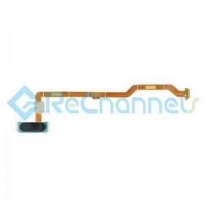 For Huawei MediaPad M5 lite 10.1 Fingerprint Sensor Flex Cable Replacement - Black - Grade S+