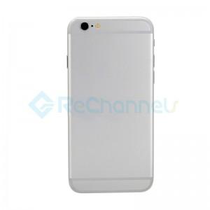 For Apple iPhone 6 Rear Housing Assembly Replacement  - Silver - Grade S