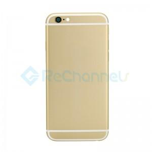 For Apple iPhone 6 Battery Door Replacement - Gold - Grade S