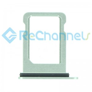 For iPhone 12 Mini Sim Card Tray Replacement- Single Version-Green-Grade S+