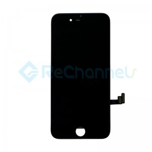 For Apple iPhone 7 LCD Screen and Digitizer Assembly Replacement - Black - Grade R