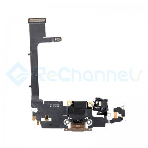 For Apple iPhone 11 Pro Charging Port Flex Cable Replacement - Gold - Grade S+