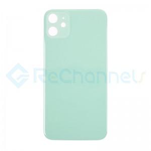 For Apple iPhone 11 Battery Door  Replacement - Green - Grade S