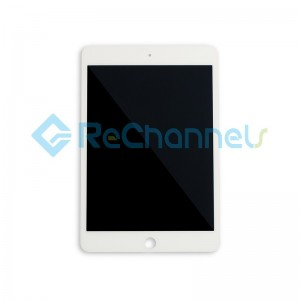 For Apple iPad mini 5 LCD Screen and Digitizer Assembly Replacement - White - Grade S+