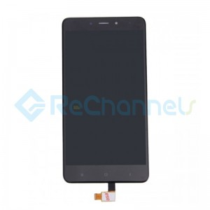 For Xiaomi Redmi Note 4 LCD Screen and Digitizer Assembly Replacement - Black - Grade S+