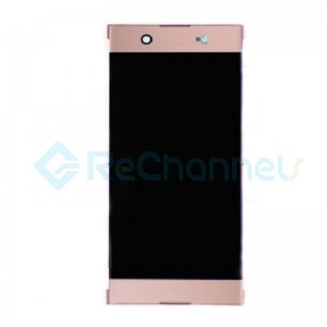 For Sony Xperia XA1 Ultra LCD Screen and Digitizer Assembly Replacement - Pink - Grade S+ (Model GC3223)