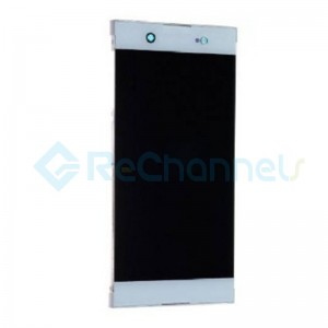 For Sony Xperia XA1 Ultra LCD Screen and Digitizer Assembly Replacement - White - Grade S+  (Model GC3223)