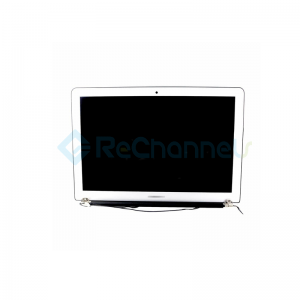 "For MacBook Air 13"" A1466 (Mid 2012 - Early 2015) LCD Screen Full Assembly Replacement - Grade S+"