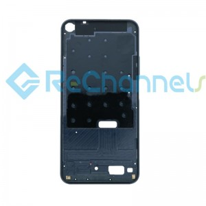 For Huawei Nova 5T/Honor 20 Front Housing Replacement - Black - Grade S+