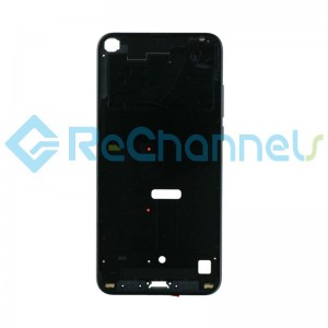 For Huawei Honor View 20 Front Housing Replacement - Black - Grade S+