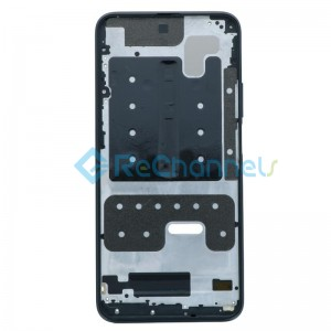 For Huawei Honor 9X Front Housing Replacement - Black - Grade S+