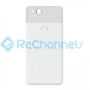 For Google Pixel 2 Battery Door Replacement - White - Grade S+
