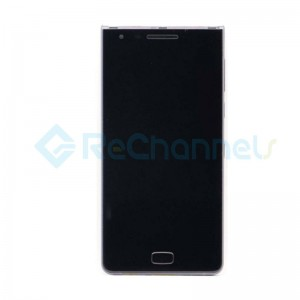 For Blackberry Motion LCD Screen and Digitizer Assembly with Front Housing Replacement - Black - Grade S+