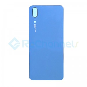 For Huawei P20 Battery Door Replacement - Blue - Grade S+