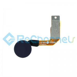 For Huawei Mate 20/Mate 20 X Fingerprint Sensor Flex Cable Replacement - Silver - Grade S+