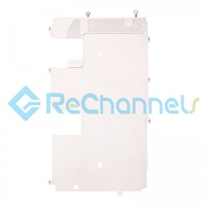For Apple iPhone 8 LCD Back Plate with Heat Shield Replacement - Grade S+