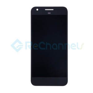 For HTC Google Pixel LCD Screen and Digitizer Assembly Replacement - Black - Grade S+