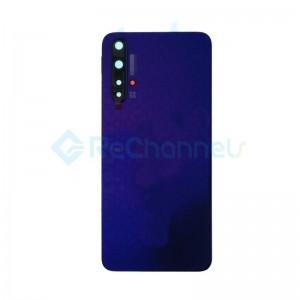 For Huawei Nova 5T Battery Door Replacement - Midsummer Purple - Grade S+