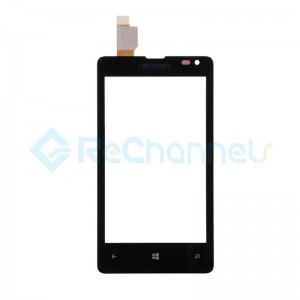 For Microsoft Lumia 435 Digitizer Touch Screen Replacement - Black - Grade S+