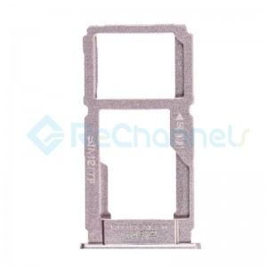 For OPPO R9 Sim Card Tray Replacement - Rose - Grade S+