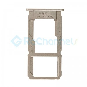 For OPPO R9s Plus Sim Card Tray Replacement - Gold - Grade S+