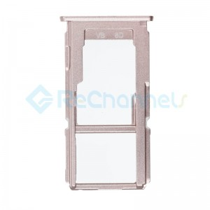 For OPPO R9s Plus Sim Card Tray Replacement - Rose - Grade S+