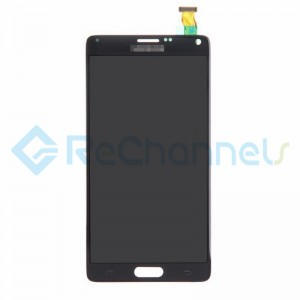 For Samsung Galaxy Note 4 Series LCD Assembly Replacement - Black - Grade S+