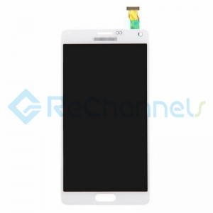For Samsung Galaxy Note 4 Series LCD Assembly Replacement - White - Grade S+